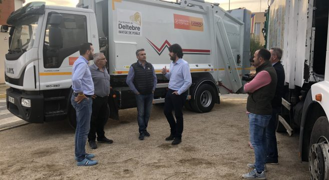 Recogida selectiva de residuos ayuntamiento de Deltebre
